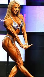 Happy client, Mindi O'Brien - Inducted into the Bodybuilding Hall of Fame 2016